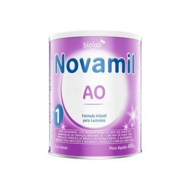 Novamil AO 1 Fórmula Infantil Lata 400g