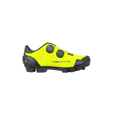 Sapatilha Ciclismo Mtb Absolute Prime II Amarelo Fluor
