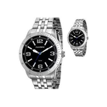 9199d070bbd Relógio Masculino Mondaine Prateado Original Prova D Água 99191GOMVNE1