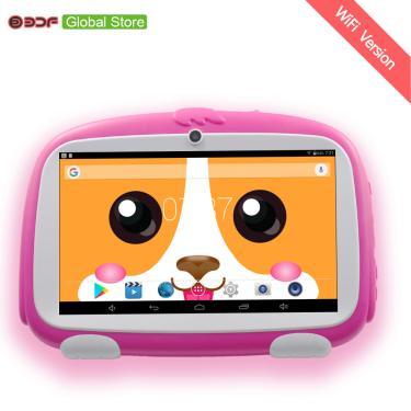 Imagem de Tablet pc 7 argolas android 2020, 1gb + 16gb, para crianças, aprendizagem infantil, melhores