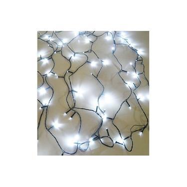 Pisca Pisca 100 Leds 8 Funçoes de Natal Branco Para Decoraçao (NTL2100B127V)