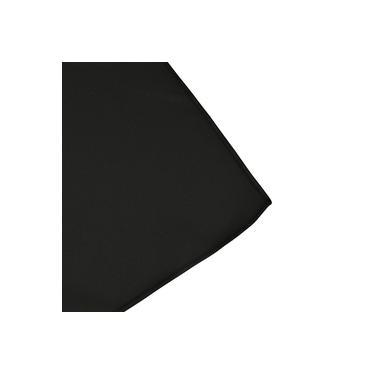 Imagem de Toalha de Mesa Retangular em Tecido Preto 2,20m