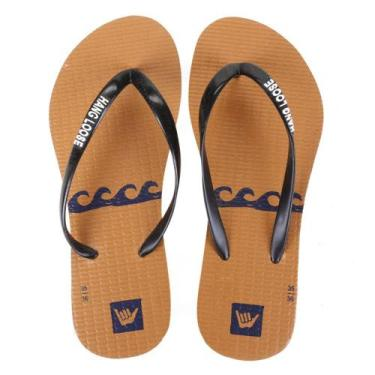 Chinelo Hang Loose Slim Waves Feminino