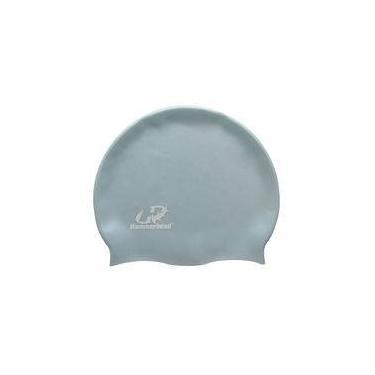 Touca de Silicone Natação Hammerhead / Azul-gelo / Infantil