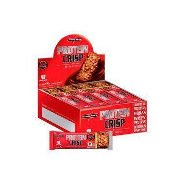 Crisp Bar Protein (12 Unidades) - Integralmedica