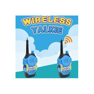 Walkie Talkie Interativo Toys 2 PCS Infantil