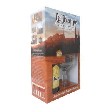 Kit Cerveja La Trappe Blond 1 Grf 750Ml + 1 Taça