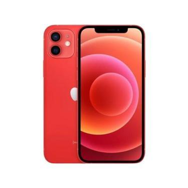 Imagem de Iphone 12 Apple 128Gb - Product(Red)  - Tela 6,1 12Mp Ios