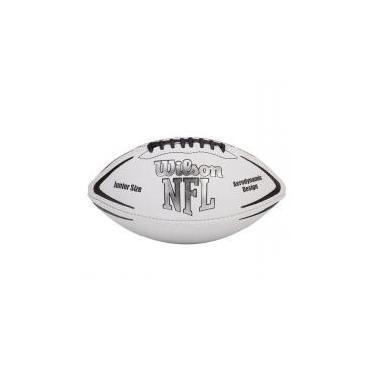 Bola Futebol Americano Junior NFL Avenger - Wilson Branca 843e21e2cac5c