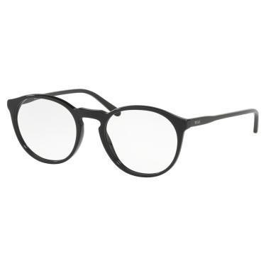 9c9adfe52b689 Óculos de Grau Polo Ralph Lauren Masculino PH2180 5001 - Acetato Preto