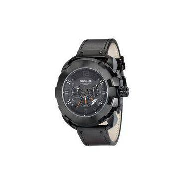 b886cfdf8aa Relógio Masculino Seculus Cronógrafo 20467GPSVPC1
