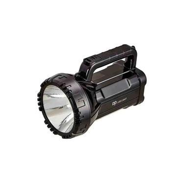 Imagem de Lanterna Holofote Tática de mão LED com alça Recarregavel