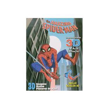 The Amazing - Spider-man - Inclui Óculos 3D - Marvel - 9788564548343