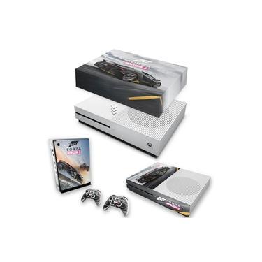 Capa Anti Poeira e Skin para Xbox One S Slim - Forza Horizon 3