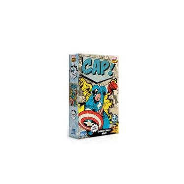Imagem de Quebra Cabeça Puzzle Nano 500 Peças Capitão América Marvel Toyster