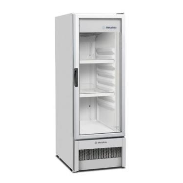 Refrigerador Expositor Vertical Metalfrio Branco VB25R Light 235 Litros 110V