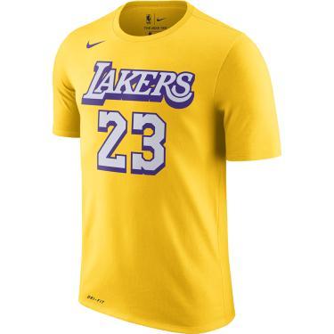 Camiseta Nike LeBron James Lakers City Edition Masculina