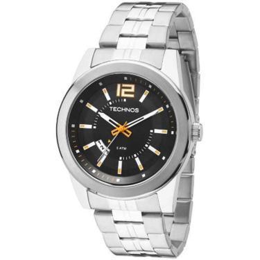 Relógio Masculino Technos Analógico 2115KSV 1L - Prata 67764de98a