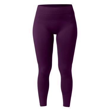 Imagem de She Legging Fitness Microfibra Feminino, G, Berinjela