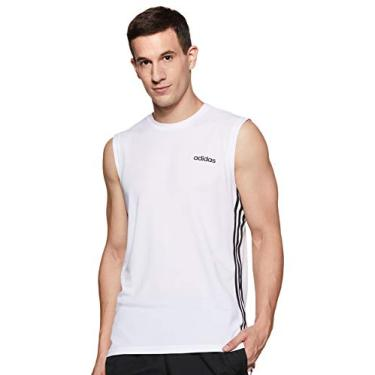 Regata Adidas DESIGN 2 MOVE 3-STRIPES - Branco