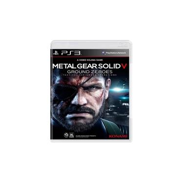 Jogo Metal Gear Solid V: Ground Zeroes - Ps3