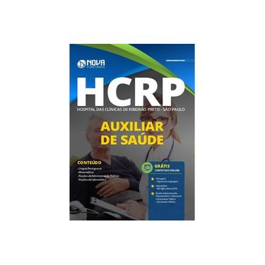 Imagem de Apostila HCRP-SP 2020 - Auxiliar de Saúde - Nova