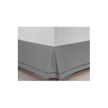Imagem de Saia Para Cama Box Queen Ponto Palito 100% Algodão - Casa & Conforto