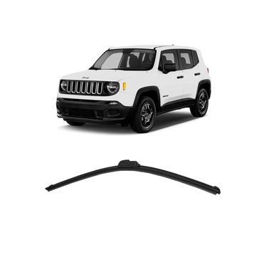 Palheta Limpador Parabrisa Jeep Renegade 2015 a 2016 Dianteiro Motorista Dyna