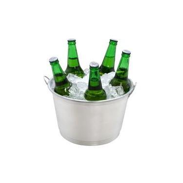 Imagem de Kit Com 10 Balde Para Gelo E Cerveja De 9 Litros Em Alumínio