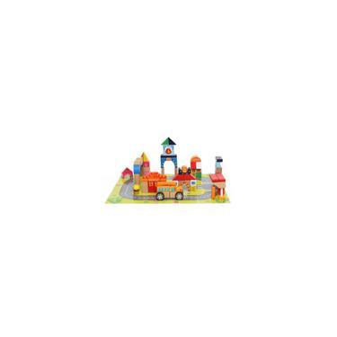 Imagem de Brinquedo De Atividades Cidade Blocos Tauno 84 Peças - Dican