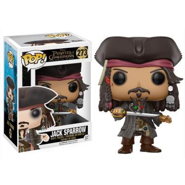 Imagem de Funko POP Disney Piratas do Caribe Jack Sparrow Figura de Ação, Marrom