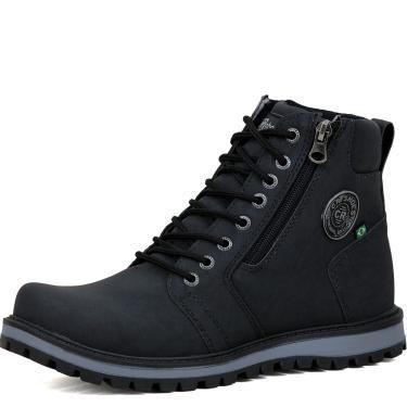 Bota Coturno CR Shoes Preto  masculino