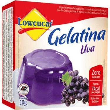 Imagem de Gelatina Uva 10G Lowçucar - Lowçúcar