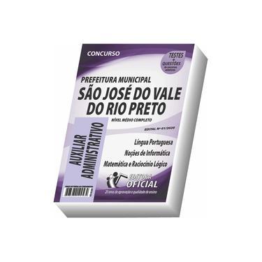 Imagem de Apostila Prefeitura de São José do Vale do Rio Preto - Auxiliar Administrativo