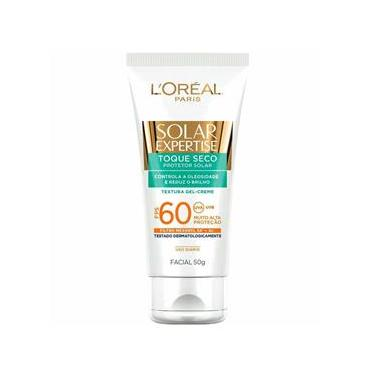 Solar Expertise Facial Toque Seco FPS 60 L`oréal Paris - Protetor Solar