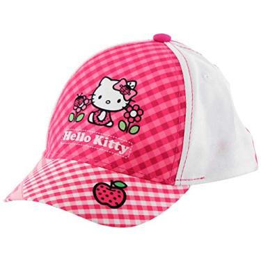 Kit Óculos de Sol Uva 400 + Boné da Hello Kitty Indicado Para +3 Anos Multikids BR594 Rosa