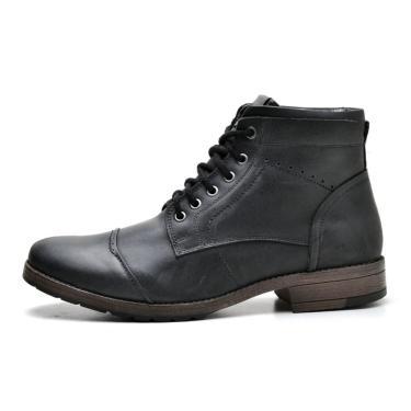 Bota Boots Reta Oposta 897 Suflair Fossil Preto  masculino