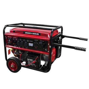 Gerador de Energia a Gasolina 8 KVA trifásico 220/380v Partida Elétrica - NG8100E3D