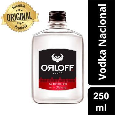 Vodka Nacional Orloff 5x Distilled - 250ml