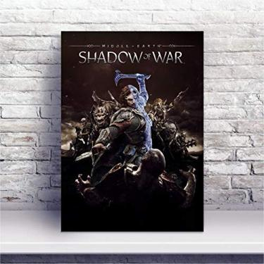 Placa MDF Jogo Middle-earth: Shadow of War