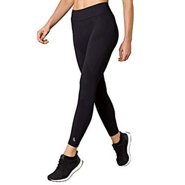 Calça legging Térmica X-Run, Lupo Sport, Feminino, Preta, GG