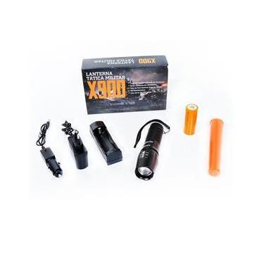 Lanterna Led Tática Profissional Shadowhank X900 Caixa