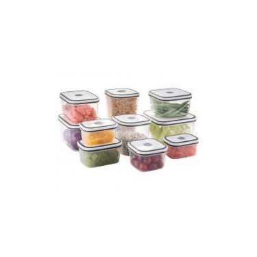 Imagem de Conjunto de Potes Herméticos de Plástico - 10 Unidades - Electrolux