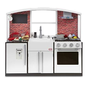 Imagem de Cozinha Moderna, Little Tikes, Vermelha/Branca