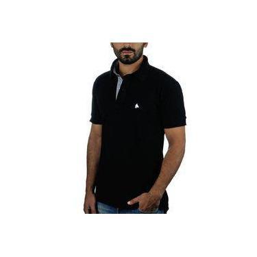 fc89d856d Camiseta Pólo Masculino Bf   Ms Preta CP016