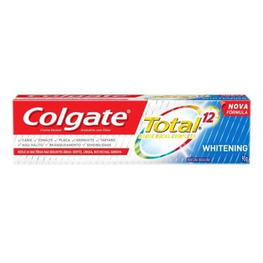 Creme Dental Colgate Total 12 Whitening 90g  unissex