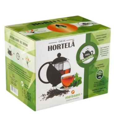 Chá de Hortelã 15 Sachês 1g - Meissen