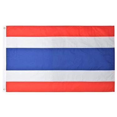 Bandeira da Tailândia 145cm x 90cm da Marca Minha Bandeira - Dupla Face
