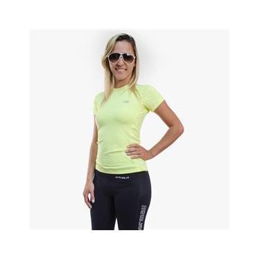 Camisa Manga Curta de Poliamida Feminina UV50+ Mormaii 83d2aacf1a0