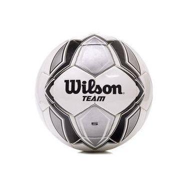 Bola De Futebol De Campo Wilson Team Sb Branca Preta E Prata 854e3275c3eb7